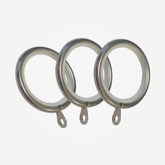 Rings For 28mm Allure Classic Stainless Steel Effect Ball