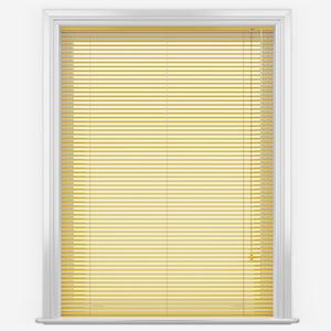 Vigor Yellow Aluminium Venetian Blind