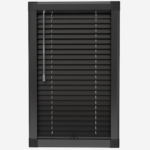 Touched by Design Prime Black Perfect Fit Venetian Blind