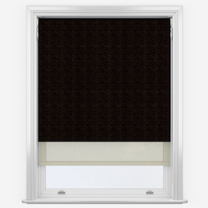 Absolute Chocolate & Cream Double Roller Blind