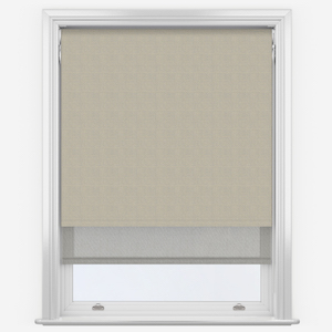 Absolute Light Grey & Grey Double Roller Blind