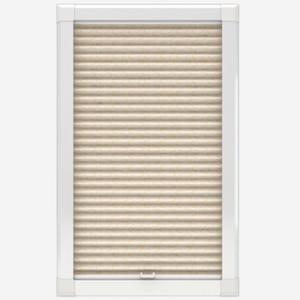 Louvolite Aura Gold Perfect Fit Pleated Blind