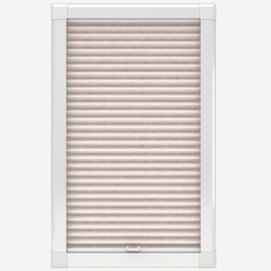Louvolite Aura Oyster Perfect Fit Pleated Blind