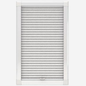 Louvolite Aura White Perfect Fit Pleated Blind