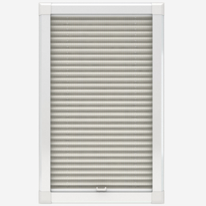 Louvolite Regency SPC Oyster Perfect Fit Pleated Blind