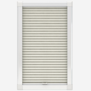 Louvolite Voile FR Cream Perfect Fit Pleated Blind