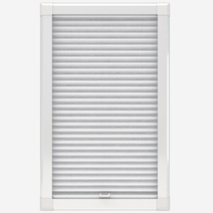 Louvolite Voile FR White Perfect Fit Pleated Blind