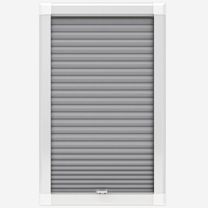 Touched By Design Berlin Blackout Dove Grey Perfect Fit Honeycomb Cellular Blind
