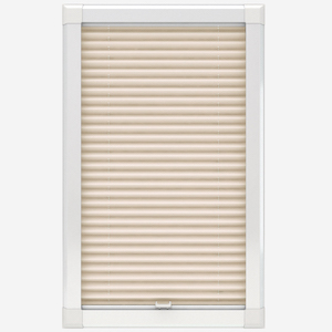 Touched By Design Dresden Cream Perfect Fit Pleated Blind