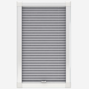 Touched By Design Dresden Dove Grey Perfect Fit Pleated Blind