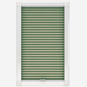 Touched By Design Dresden Sage Perfect Fit Pleated Blind