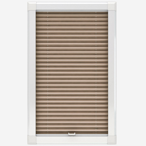 Touched By Design Dresden Sand Perfect Fit Pleated Blind