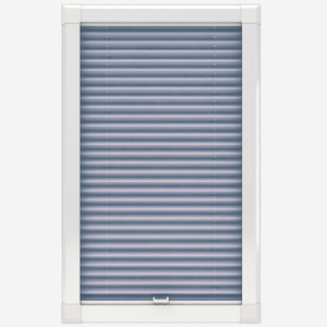 Touched By Design Dresden Sky Blue Perfect Fit Pleated Blind