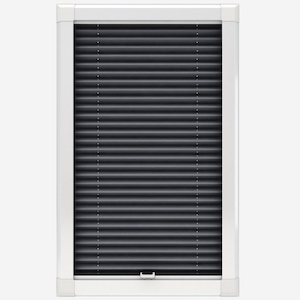 Touched By Design Dresden Slate Grey Perfect Fit Pleated Blind