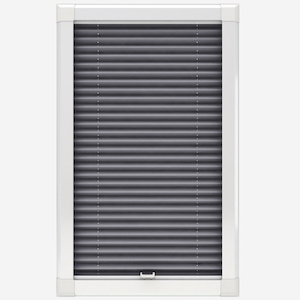 Touched By Design Dresden Storm Grey Perfect Fit Pleated Blind