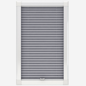 Touched By Design Dresden Urban Grey Perfect Fit Pleated Blind