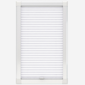 Touched By Design Dresden White Perfect Fit Pleated Blind