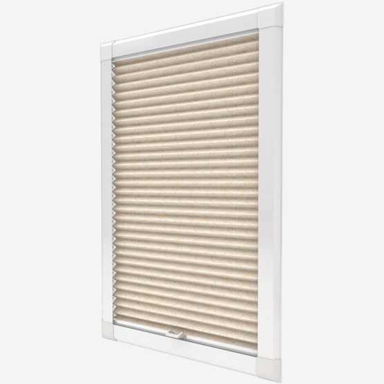 Louvolite Aura Gold perfect_fit_pleated