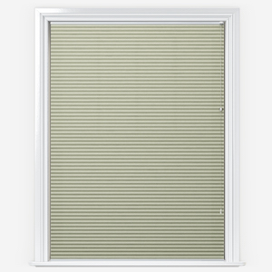 Touched By Design Dresden Bisque Pleated Blind