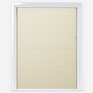 Touched By Design Dresden Cream Pleated Blind