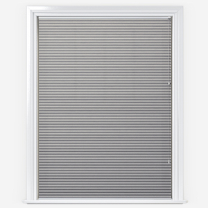 Touched By Design Dresden Dove Grey Pleated Blind