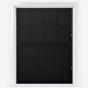 Touched By Design Dresden Jet Black Pleated Blind