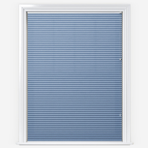 Touched By Design Dresden Sky Blue Pleated Blind