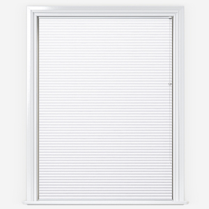 Touched By Design Dresden White Pleated Blind