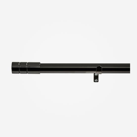28mm Allure Classic Black Nickel Barrel Eyelet