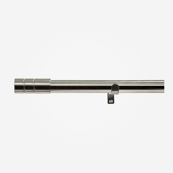 28mm Allure Classic Stainless Steel Effect Barrel Eyelet