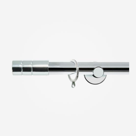 28mm Allure Signature Polished Chrome Barrel