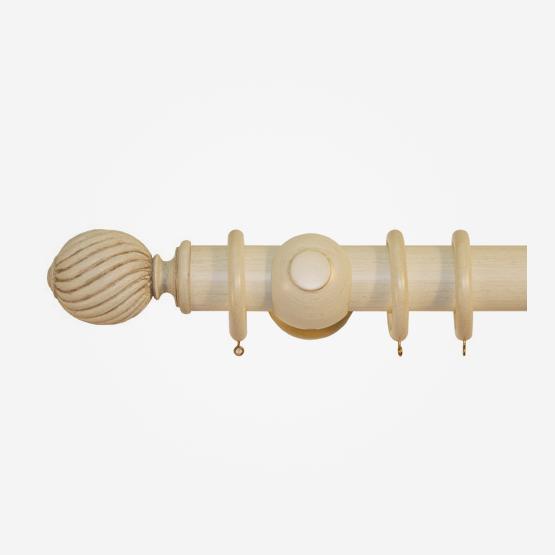 45mm Palais Antique Cream Gold Swirl