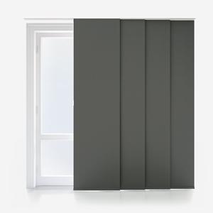 Absolute Blackout Dark Grey Panel Blind