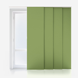 Touched By Design Absolute Blackout Green Panel Blind