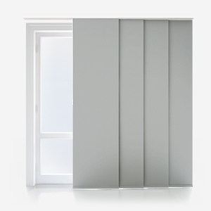 Touched By Design Absolute Blackout Light Grey Panel Blind