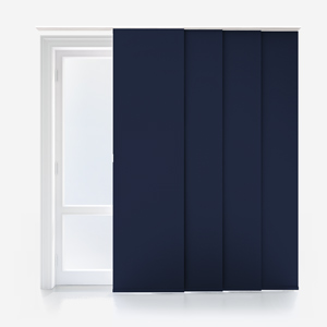 Touched By Design Absolute Blackout Navy Panel Blind