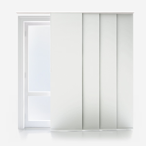 Touched By Design Absolute Blackout Prime White Panel Blind
