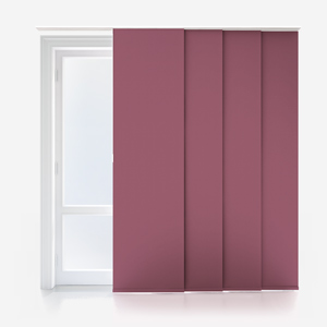 Touched By Design Absolute Blackout Purple Panel Blind