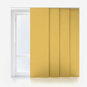 Touched By Design Absolute Blackout Yellow Panel Blind