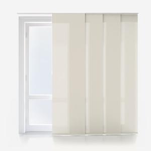 Deluxe Plain Cream Panel Blind