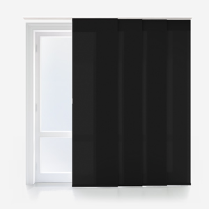 Touched By Design Deluxe Plain Jet Panel Blind