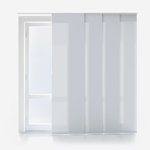 Touched By Design Deluxe Plain Mineral Panel Blind