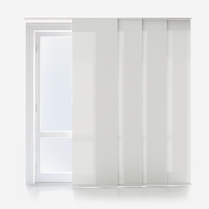Touched by Design Deluxe Plain Parchment Panel Blind