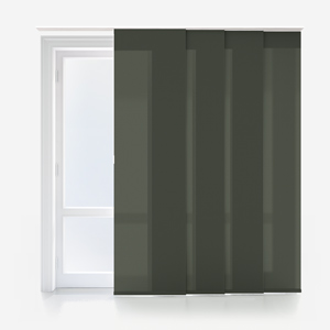 Touched by Design Deluxe Plain Shadow Grey Panel Blind