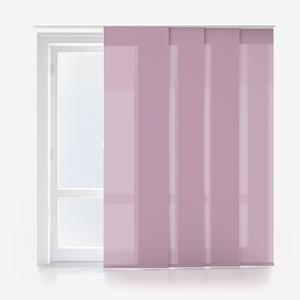 Touched By Design Deluxe Plain Wisteria Panel Blind