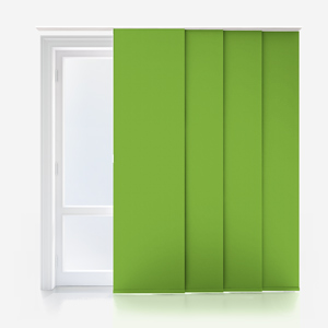 Touched by Design Supreme Blackout Apple Green Panel Blind