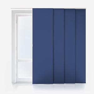 Touched By Design Supreme Blackout Denim Blue Panel Blind