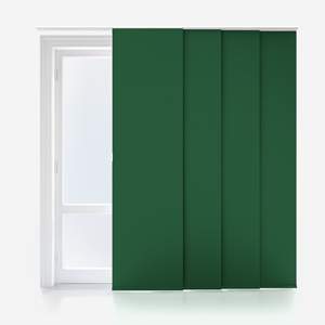 Touched by Design Supreme Blackout Forest Green Panel Blind