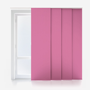 Touched by Design Supreme Blackout Hot Pink Panel Blind