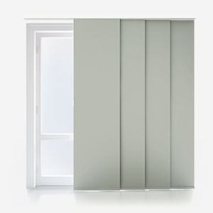 Touched by Design Supreme Blackout Mist Grey Panel Blind